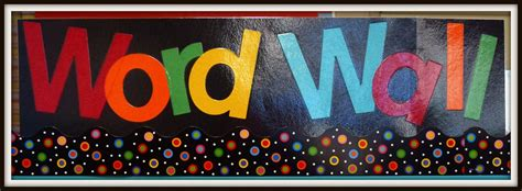 Check out these 8 brilliant ideas for adding a splash of yellow to your kiddos. Word Wall Words - Mrs. Milne's Grade Three Blog