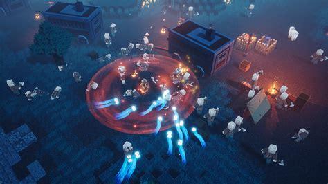 minecraft dungeons   gameplay trailer pressakeycom