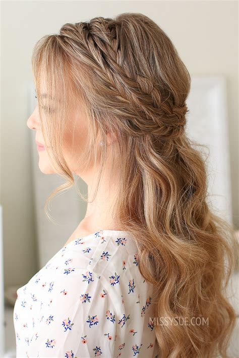 pretty summer hairstyles for hair easy braided