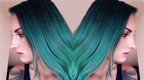 Colors To Dye Hair by 30 Teal Hair Dye Shades And Looks With Tips For Going Teal