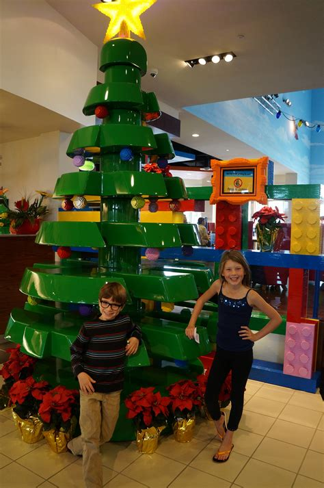 legoland christmas photo tour of the legoland hotel decorations oc