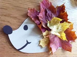 Blätter Basteln Herbst : igel basteln mit kinder f r niedliche dekorationen 15 ~ Lizthompson.info Haus und Dekorationen