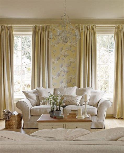 Yellow Living Room Wallpaper by Wallpaper Design Floral Print Living Room