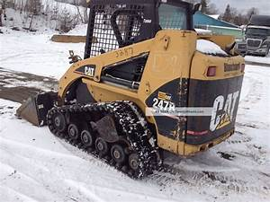 2005 Cat 247b Tracked Skid Steer Loader
