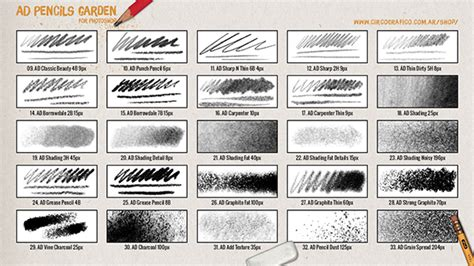 525+ Pencil Photoshop Brushes  Free Vector Eps, Abr, Ai