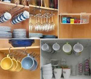 Rangement Ustensile Cuisine : rangement cuisine 10 solutions pratiques pour organiser sa cuisine ~ Melissatoandfro.com Idées de Décoration