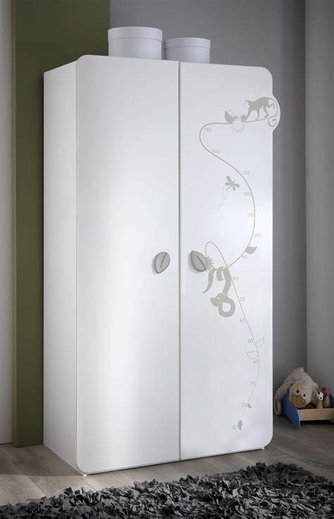 chambre contemporaine blanche valet de chambre conforama