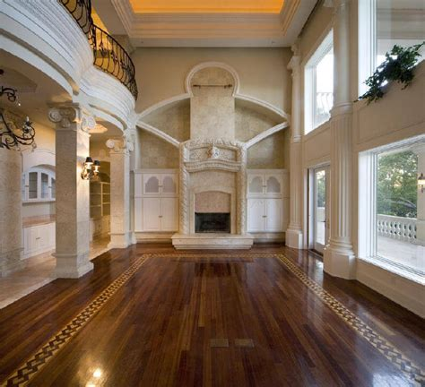 Luxury House Interiors In European And Traditional