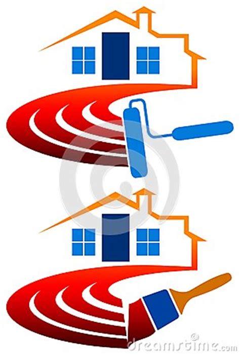 logo chambre logo de peinture de chambre image stock image 25456541