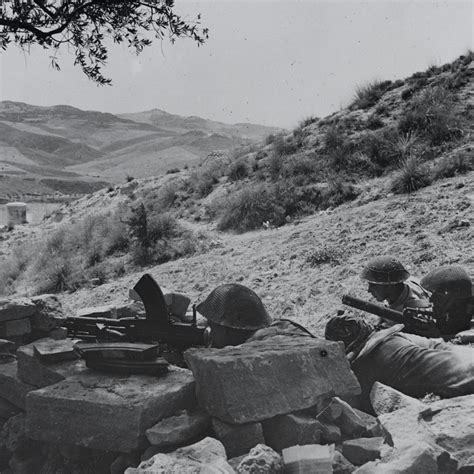 5th battalion northtonshire regiment in a position