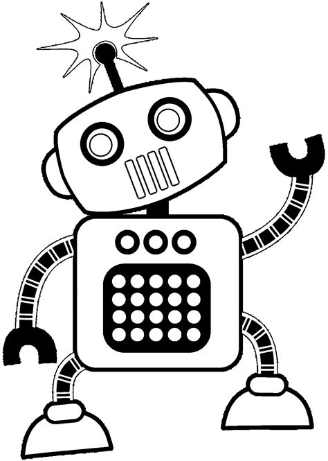 robot coloring pages robot coloring pages coloring pages