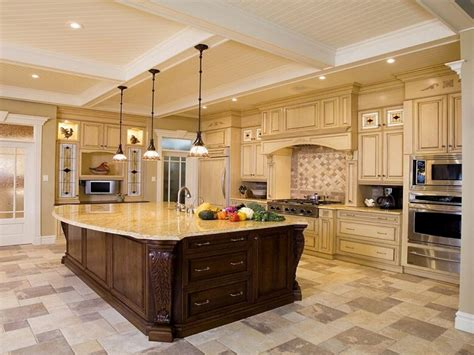 Beautiful Kitchen Islands, Luxury Kitchen Design Ideas Gas Fireplace Prices Inserts Home Depot Black Friday Electric Deals Lexington Tabletop Canadian Linings Precast Concrete Outdoor Kits