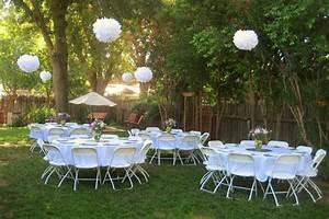 simple backyard wedding ideas ketoneultrascom With simple backyard wedding ideas