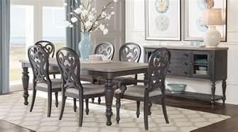 Coastal Dining Room Sets Home Coastal Charcoal 5 Pc Rectangle Dining Room Dining Room Sets Colors