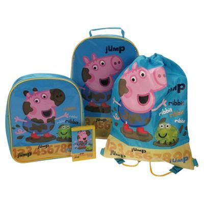 Peppa Pig Bedroom Makeover Kit by Buy Peppa Pig George 4 Luggage Set From Our