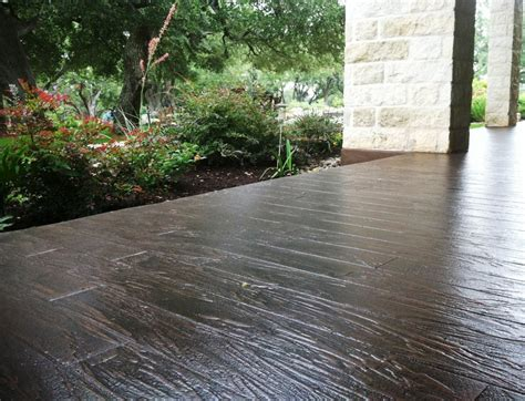 bullion coatings view houston stamped concrete overlay