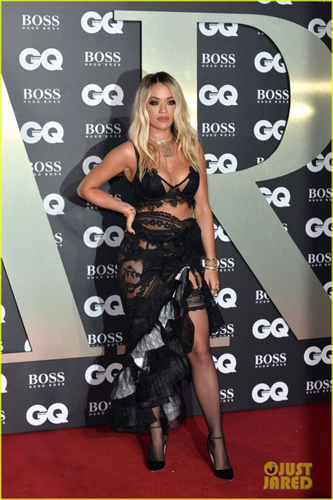 rita ora sam smith charli xcx attend  gq men