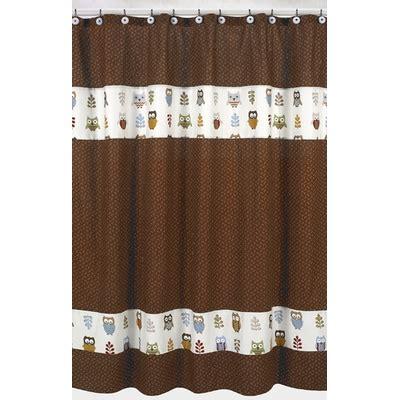 owl shower curtain owl shower curtain townhouse linens