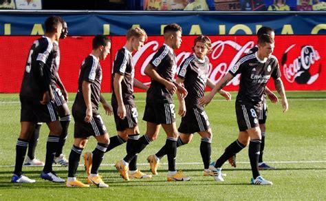 Real Madrid no pudo mantener la ventaja sobre Villarreal