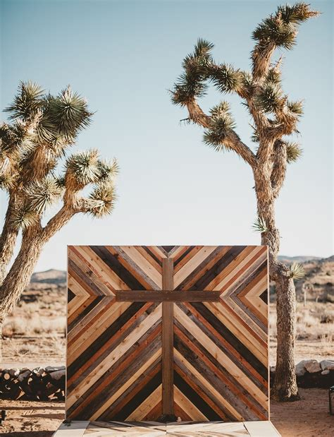 Magical Desert Wedding With Pops Of Color Personality
