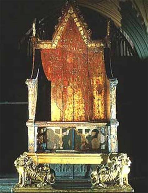 King Edward Coronation Chair by How I Spent My Summer Vacation Part Iii Back To
