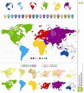 Weltkarte Kontinente Kinder : weltkarte und bunte kontinente vektor abbildung illustration von ausf hrlich porzellan 73371452 ~ A.2002-acura-tl-radio.info Haus und Dekorationen