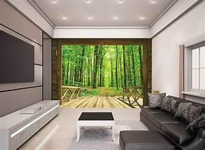 Fototapete Für Wohnzimmer : walltastic fototapete b ume wald spaziergang www 4 ~ Sanjose-hotels-ca.com Haus und Dekorationen