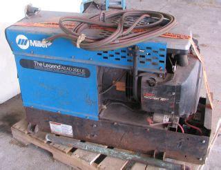 hobart g 213 portable welder generator w wisconsin tjd engine on popscreen
