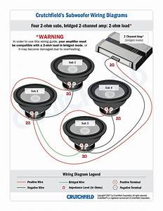 Top 10 Subwoofer Wiring Diagram Free Download 4 Svc 2 Ohm 2 Ch Low Imp Top 10 Subwoofer Wiring