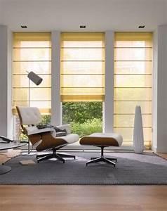Stores Für Wohnzimmer : raffrollo von teba bild 2 sch ner wohnen ~ Sanjose-hotels-ca.com Haus und Dekorationen