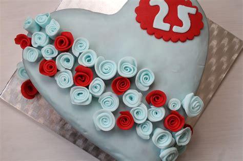 silberhochzeit torte cuplovecake