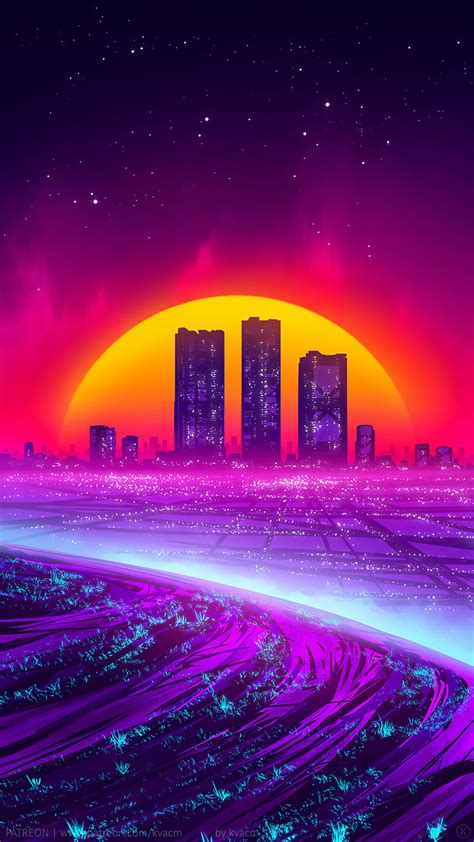Synthwave Wallpapers - Top 4k Background Download