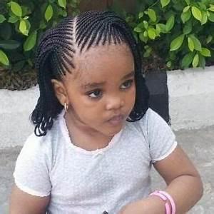 Coiffure Enfant Tresse : coiffure enfant africaine ~ Melissatoandfro.com Idées de Décoration