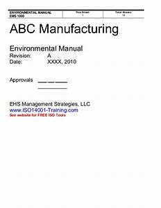 Example Ems Manual