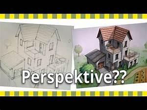 Haus Zeichnen 3d : ein haus zeichnen die vorzeichnung das w rfelprinzip haus 02 youtube ~ Watch28wear.com Haus und Dekorationen