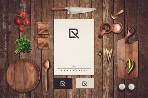 Just replace graphics and text in smart objects with your own, and your. 19+ Beautiful Restaurant Branding Mockups - PSD | Free ...