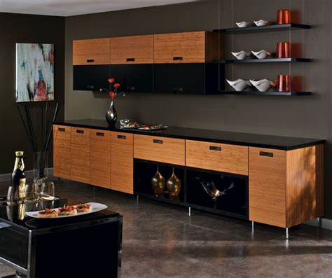 how to draw kitchen cabinets the horizontal lines of the bamboo kitchen cabinets 7248