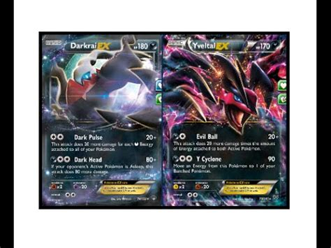 speed darkrai yveltal ex top deck profile 2016 pokemon