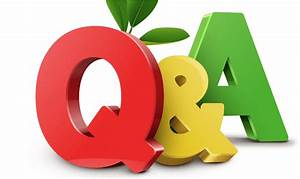 Question And Answer - Q U0026a Clipart