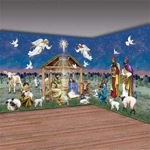 Christmas Nativity Play Scene Setters Christmas pageant props