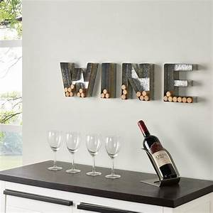 danya b quotwinequot galvanized sheet metal letter set for corks With sheet metal letters