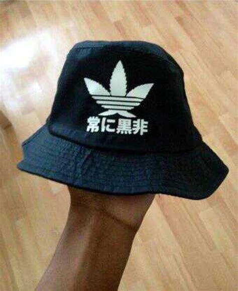Very RARE High Bucket Hat Black Supreme Pink Dolphin 40 oz