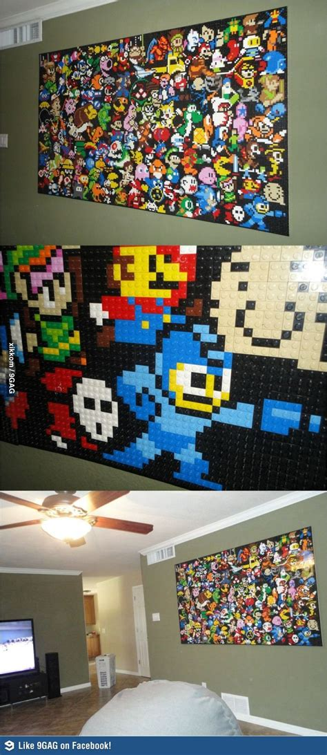 25 Best Ideas About Lego Wall Art On Pinterest Lego