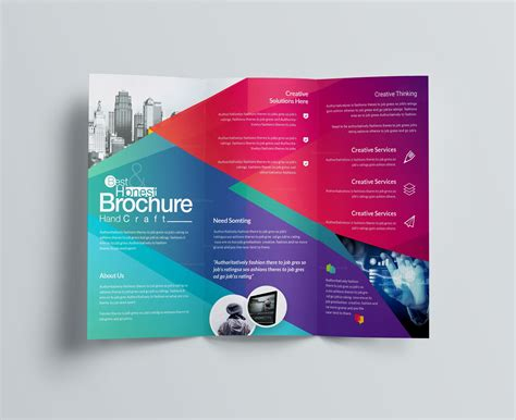 Excellent Professional Corporate Tri-fold Brochure