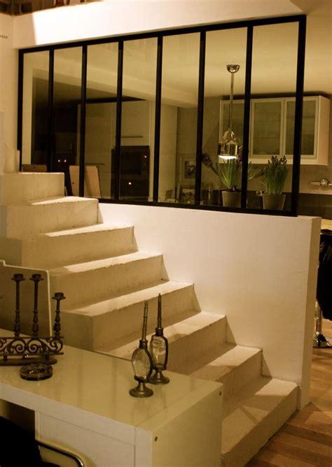 escalier entre cuisine et salon attrayant escalier entre cuisine et salon 4 image