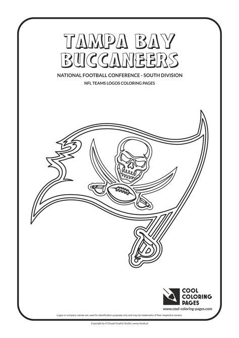 Cool Coloring Pages Tampa Bay Buccaneers - NFL American ...