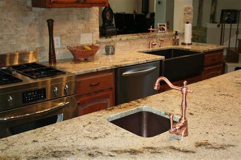 beige granite countertop kitchen design ideas