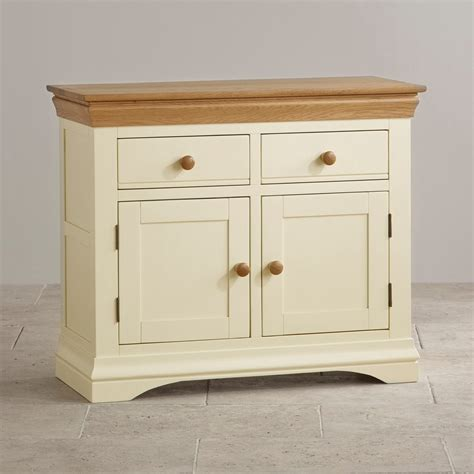 Country Sideboards by Country Cottage Small Sideboard In Painted Oak