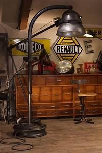 Luminaire Industriel Vintage : luminaire industriel geant ancien plus d 39 info sur vintage industriel ~ Teatrodelosmanantiales.com Idées de Décoration
