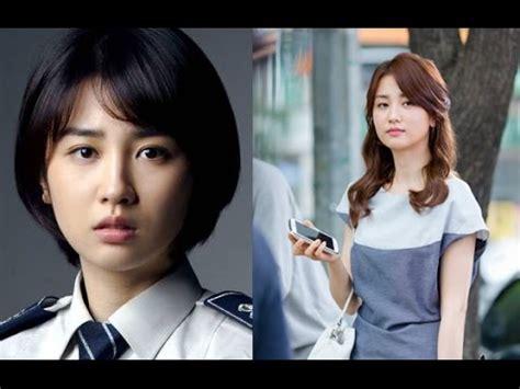 korean actresses     short hair youtube